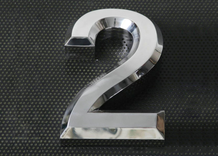 Cheap high-grade mirror stainless steel letters