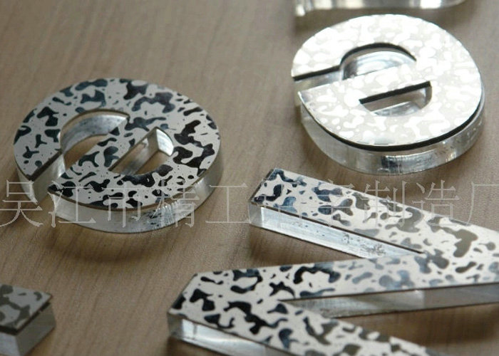 Stainless Steel Acrylic Color letter