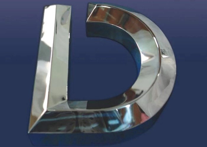 Hot sale laser cut mirror stainless steel letters