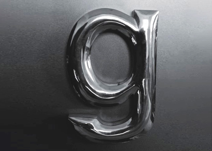 Stainless steel Spherical Letter