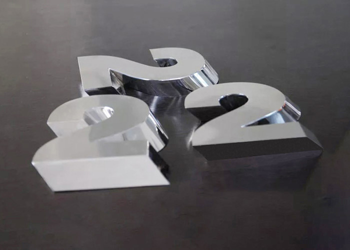 Laser cutting Three dimensional letter sign