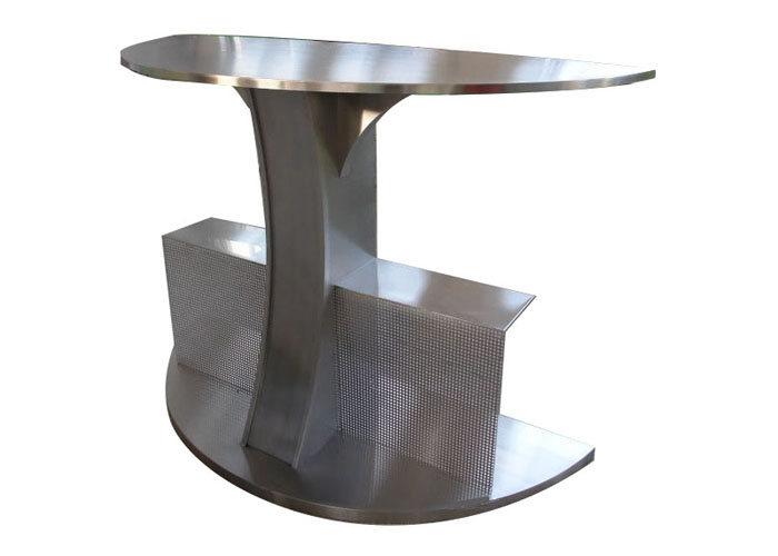 Stainless steel Special shape sign for metal model