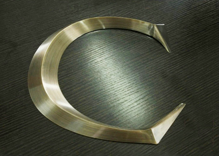 High grade stainless steel three dimensional letter sign