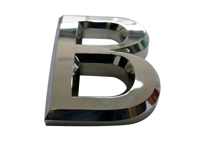 Supply Stainless steel Three dimensional letter sign