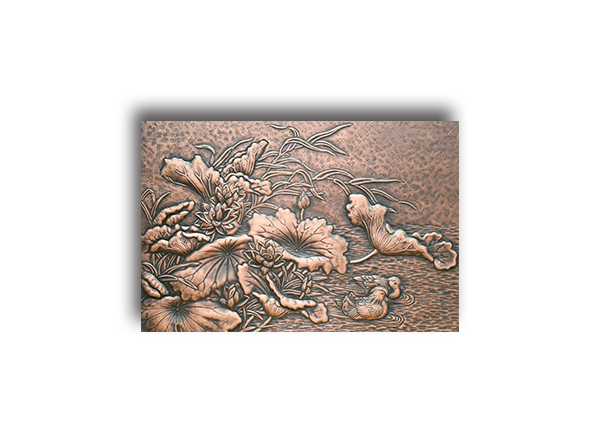 Export handicrafts copper relief home decoration signs