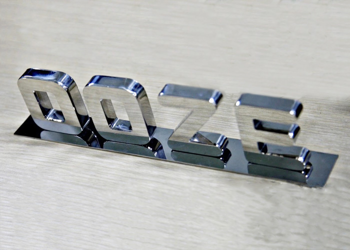 High-end 3D three-dimensional mirror stainless steel letters