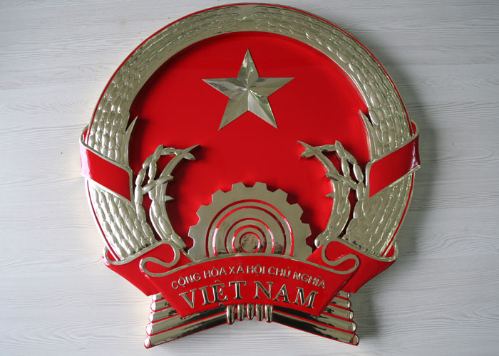 Stainless steel Welding Badge