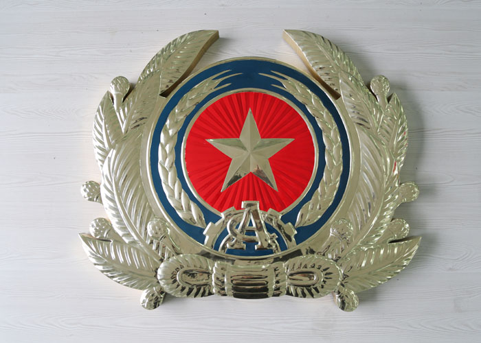 Hot sale stainless steel Badge